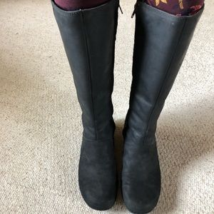Merrell Shoes - Merrell Black Leather Riding Boots